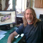 Marc - owner of Sun Signs in Sedona AZ